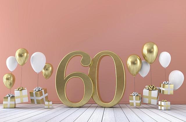 60歳お祝いイメージ