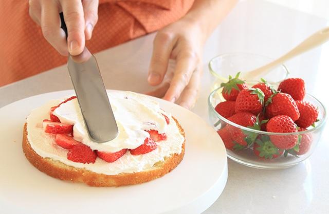 ケーキを手作りする